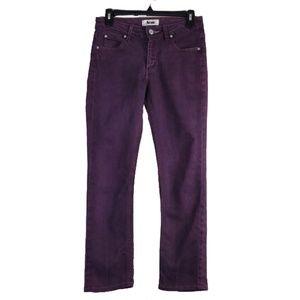 "Acne purple denim jeans size 27"""